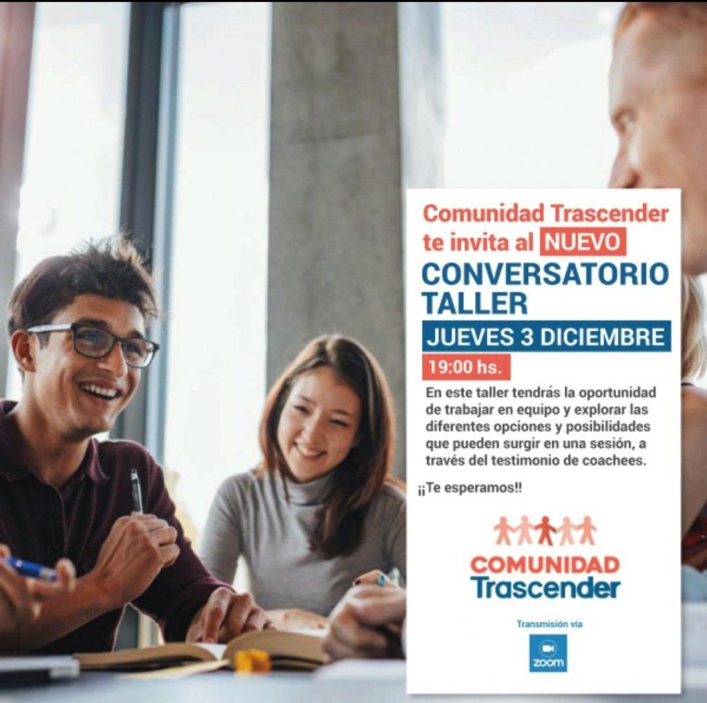 Invitación: nuevo conversatorio – Diciembre 2020