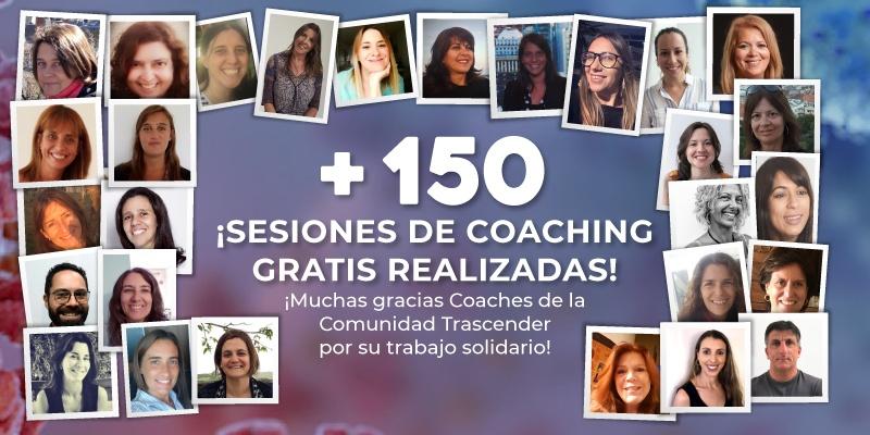 La Comunidad Trascender realizó 150 sesiones de coaching gratis