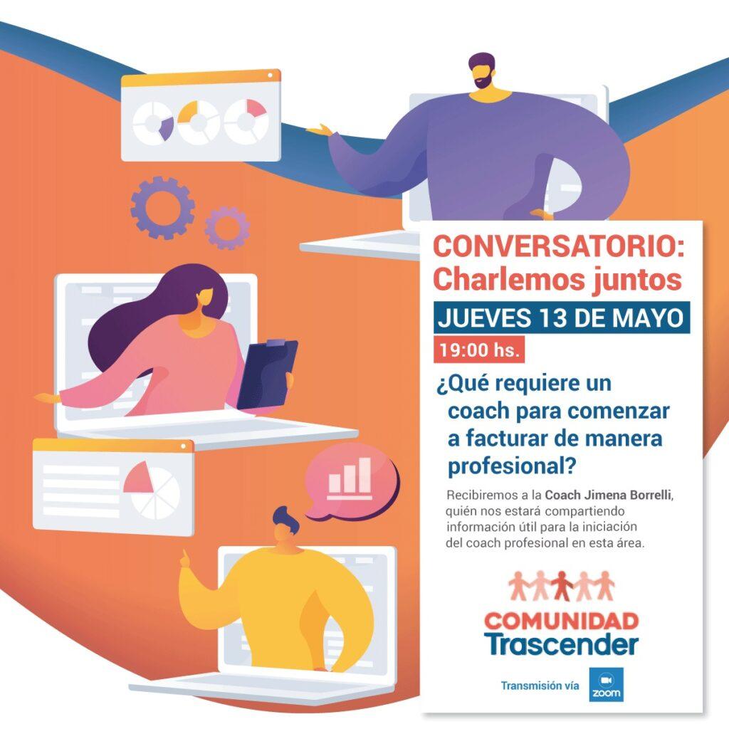 Invitación: nuevo conversatorio – Mayo 2021